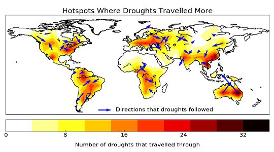Study: Droughts Can Travel Like a Slow-Moving Hurricane