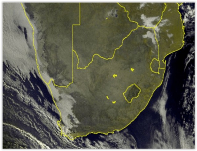 Cold front, rain in Western Cape + fire danger alert for central SA